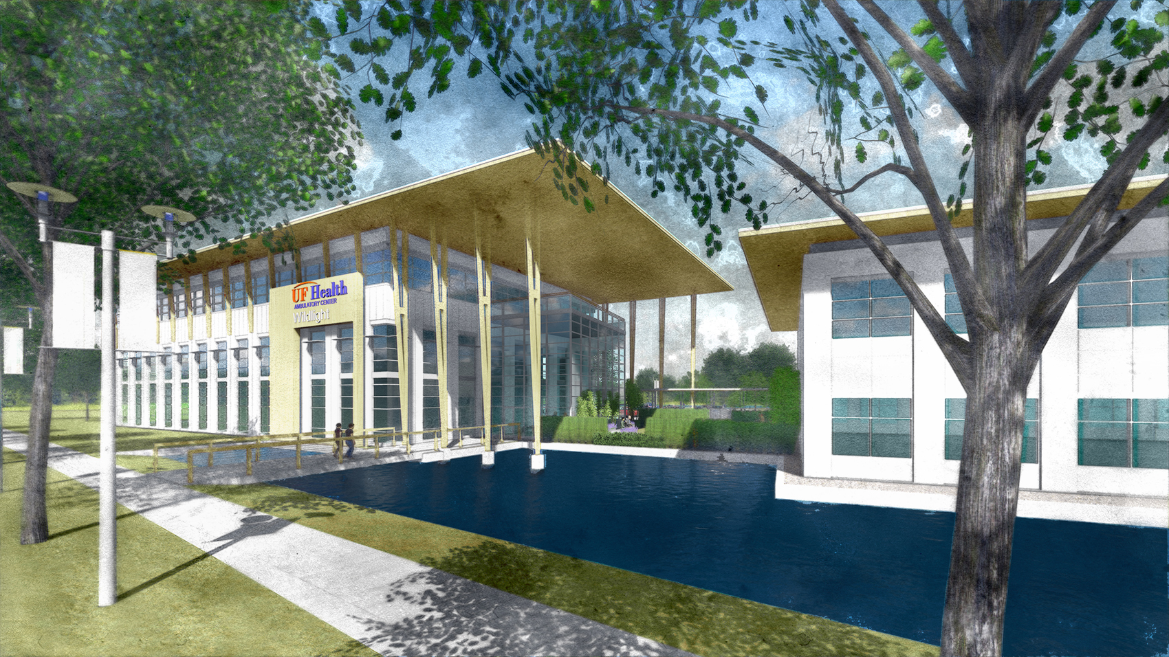 Rendering of Planned UF Health Facilities at Wildlight