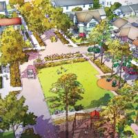 Rendering of Future neighborhoods in Wildlight